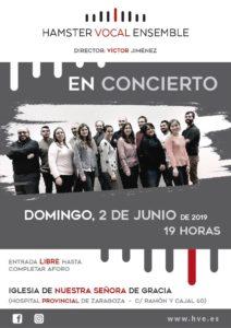 Concierto en Nuestra Señora de Gracia. 1 de Junio de 2019